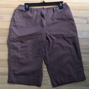 A.N.A. Bermuda Shorts - size 8
